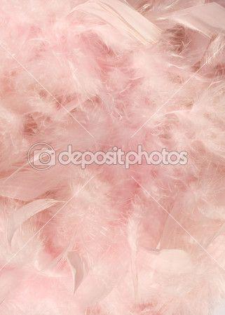 Детские мягкие розовые перья фон с текст пространства