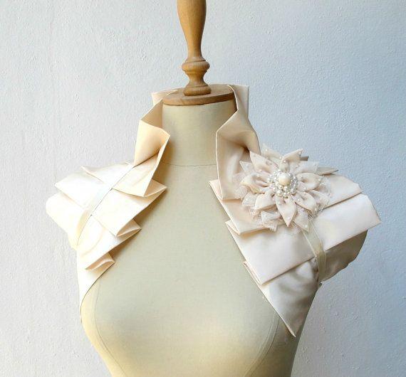 boleros for the bride! $49