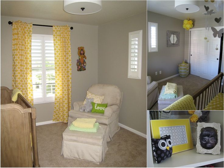 163 Best Yellow Baby Nursery Ideas Images On Pinterest