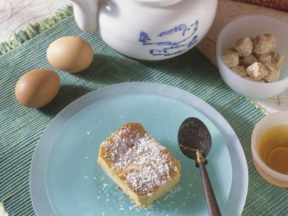 Kokos-Flan ist ein Rezept mit frischen Zutaten aus der Kategorie Menü. Probieren Sie dieses und weitere Rezepte von EAT SMARTER!