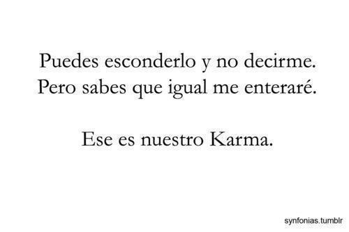 karma quotes in spanish - photo #15