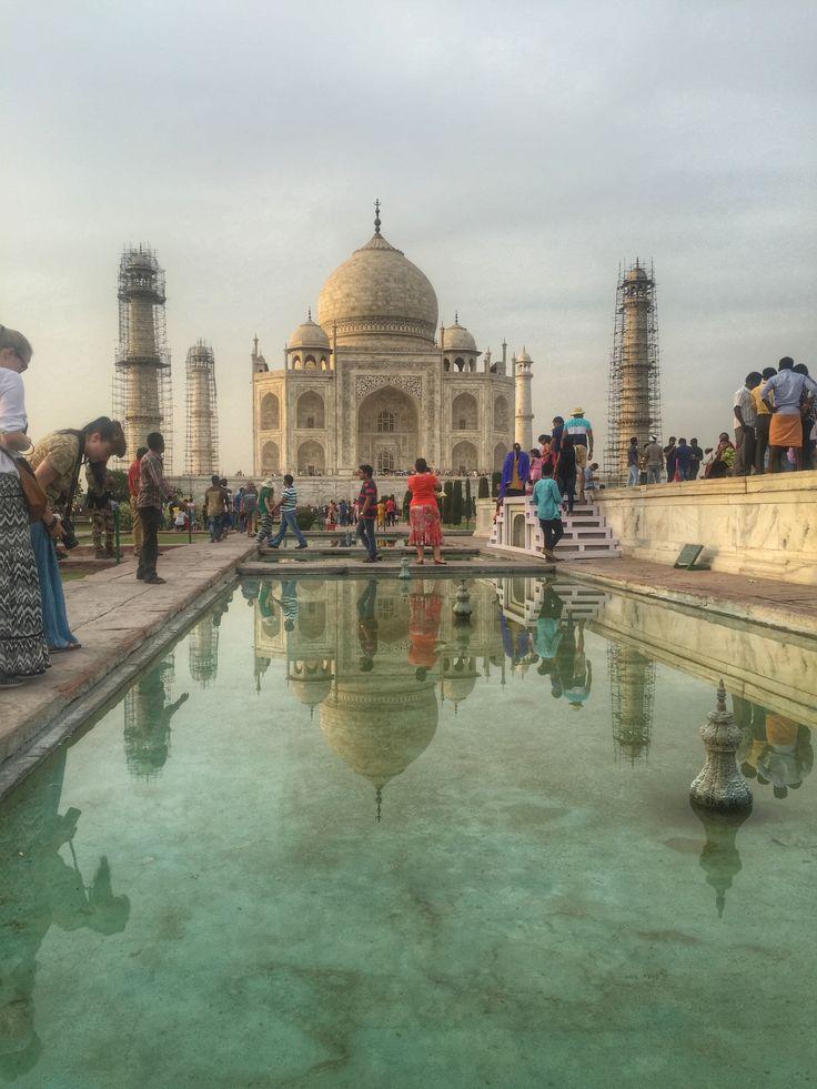 The Taj Mahal in all its glory.  www.finisterra.ca #tajmahal #wanderlust #worldwonder