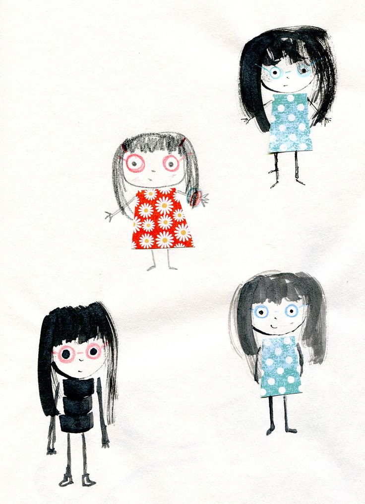 Some other little girl characters