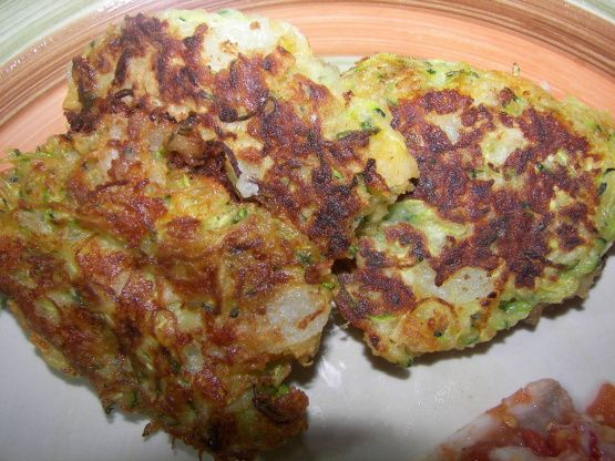Zucchini And Cheese Fritters Recipe - Food.com