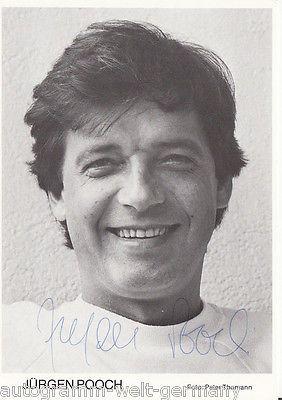 Jürgen Pooch (* 21. Mai 1943 in Insterburg, Ostpreußen; † 18. August 1998 in der Türkei) – Ohnsorg-Theater – Petra Kälberer