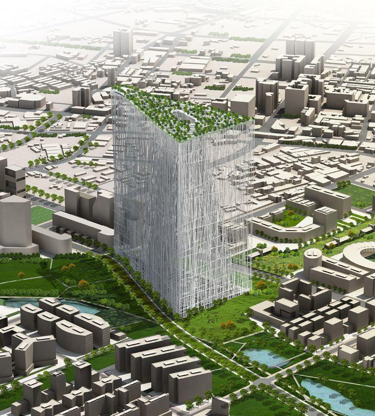 藤本壮介が建てる台湾タワー「21世紀のオアシス」 « photo 2枚目 « WIRED.jp 世界最強の「テクノ」ジャーナリズム