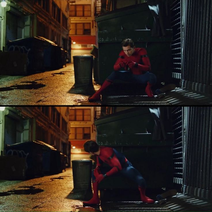 Вторая часть кадров из фильмаЧеловек-паук Возвращение домой 2017.