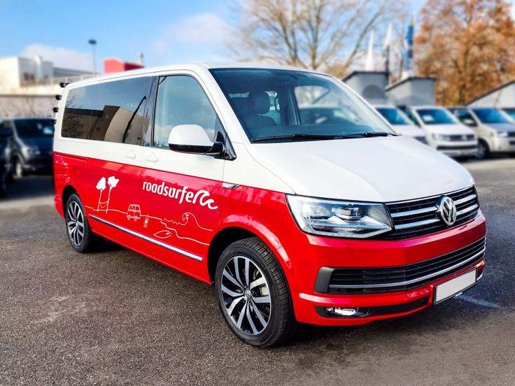 "VW T6 Camper ""Der Einsteiger"" Front roadsurfer"