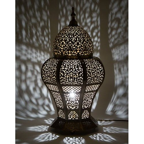 Outdoor Floor Lights Moorish Lighting Fixtures Exterior