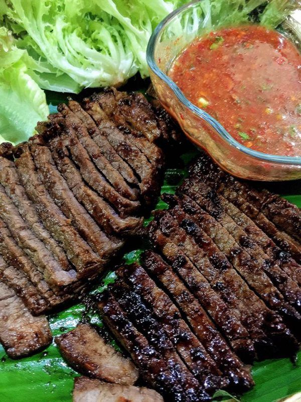 Daging Bakar Sos Pencicah Ala Dannok Thai Rasa Daging Bakar Resep Daging Resep Daging Sapi