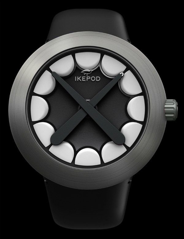 Watch brand Ikepod has teamed up with New York City-based artist KAWS for a special edition high-end watch. Based on the Ikepod Horizon designed by Marc Newson, the Ikepod Horizon KAWS was designed to integrate the well-known pop artist's signature aesthetic. KAWS' real name is Brian Donnelly, and is best known for his cartoonish art and toys. Highly successful, this project projects KAWS into the world of high-end watches.