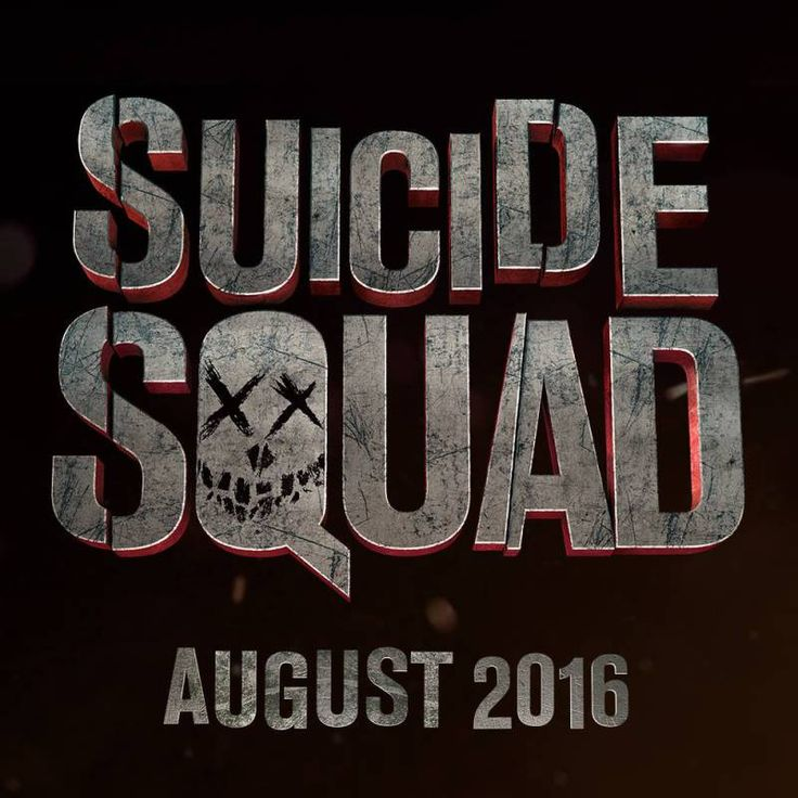 New Suicide Squad Movie Logo