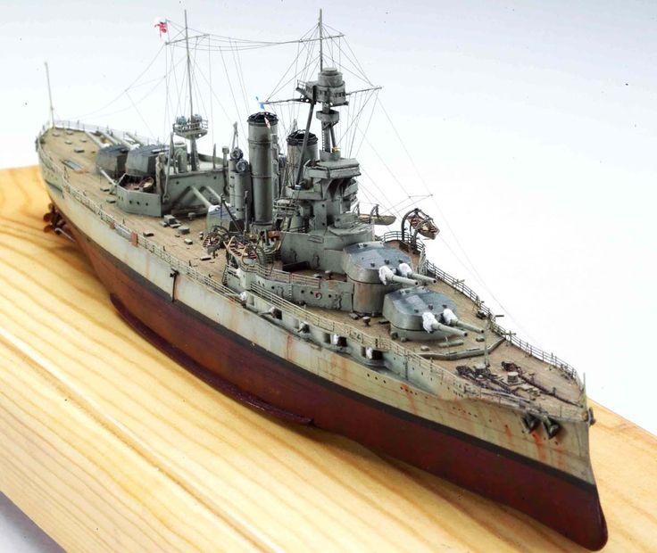 1 700 Hms Iron Duke 1918 Combrig Model Ship Gallery