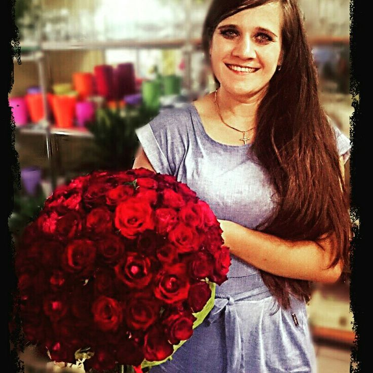 101 róż - bukiet urodzinowy :-)
