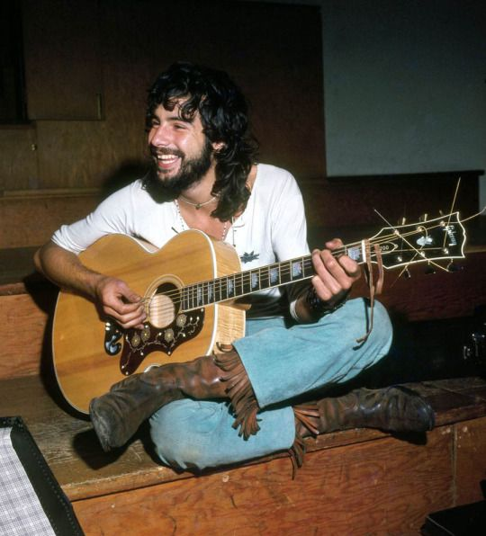 Cat Stevens, 1975, by George Wilkes