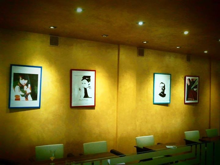 Expo in café Moses