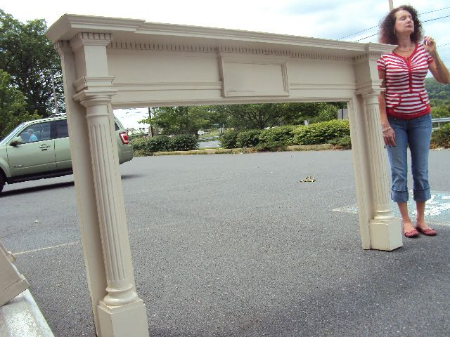Antique Wood & Marble Carved Fireplace Mantels for Sale in PA | Oley Valley Architectural Antiques Ltd.