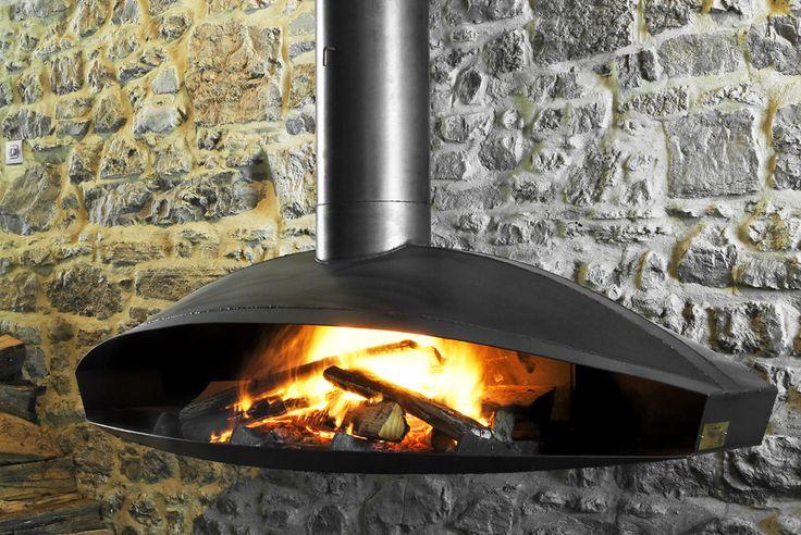 Antefocus Fireplace by Dominique Imbert