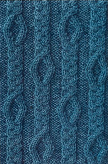 The 1194 best images about Knitting Stitches, Cable Patterns, Graphs,Charts e...