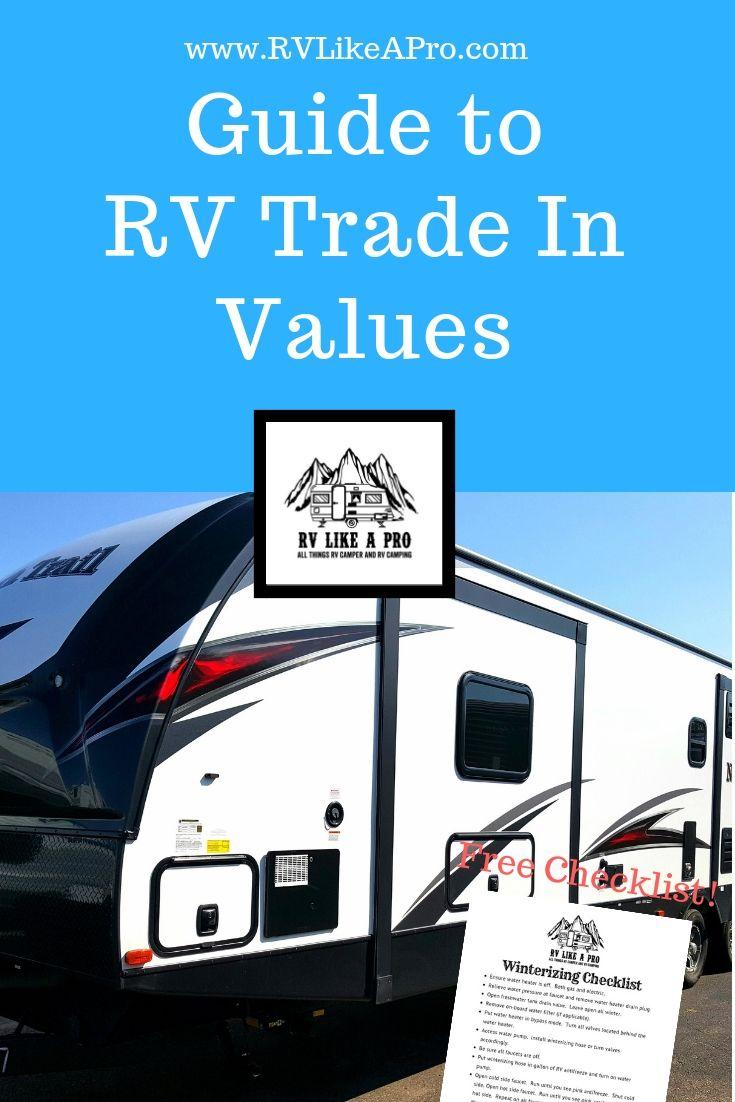 Rv Trade In Value >> Rv Trade In Value Rv Tips Pinterest