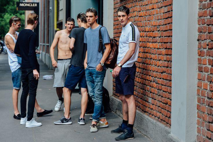 Rue des mauvais gar ons photo models off the runway for Rue des garcons