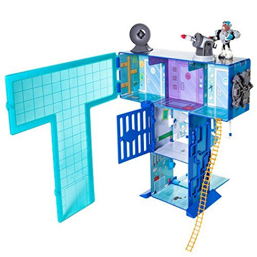 Teen Titans Go Teen Titans - T Tower Playset Teen Titans Go! http://www.amazon.com/dp/B00M4YUGNQ/ref=cm_sw_r_pi_dp_ujZ7ub17ZZRYY