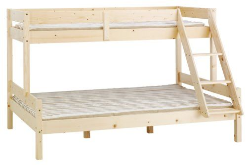 Emeletes ágy HJALLERUP 80/120x200 cm   JYSK