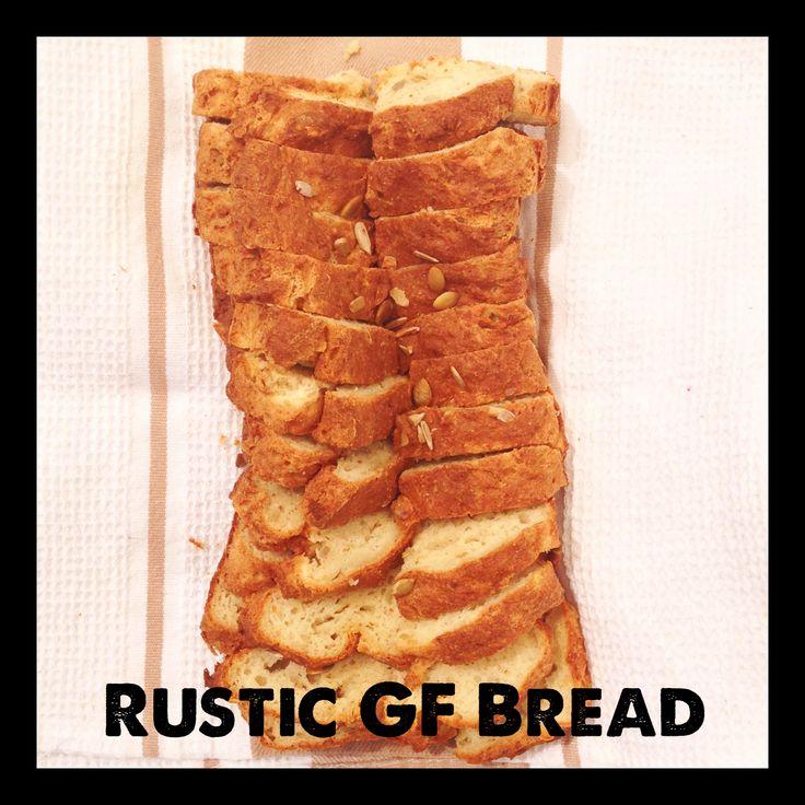 Tess's Rustic Gluten Free Bread Loaf