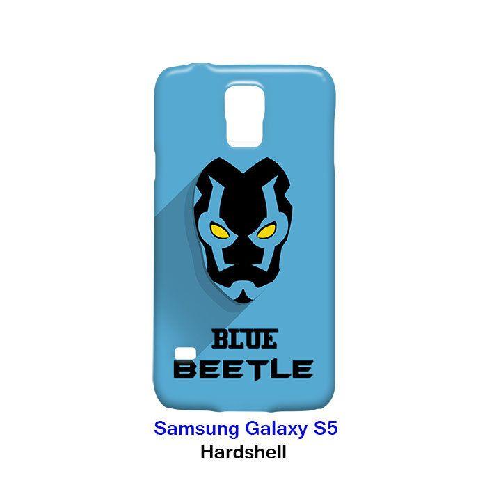 Blue Beetle Superhero Samsung Galaxy S5 Hardshell Case