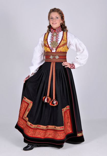 Øst-Telemark Beltestakk (Norwegian traditional clothing)