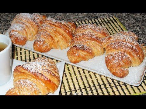 CORNETTI SFOGLIATI fatti in casa come quelli del bar! (Croissant Sfogliati) - GiAlQuadrato #50 - YouTube