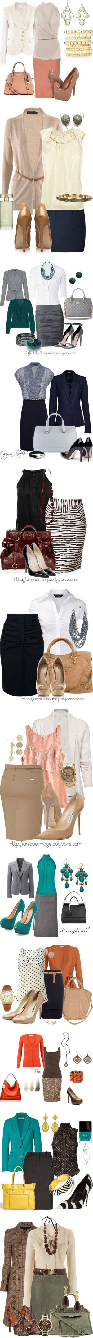 love these work outfit ideas!