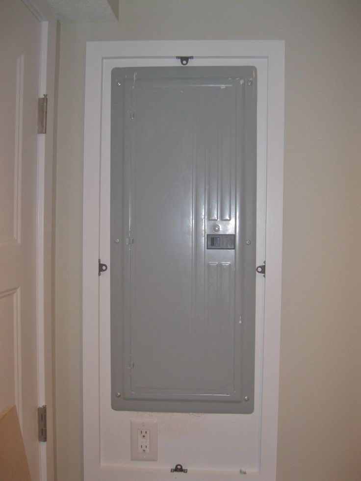 Electrical panel cover up diy basements pinterest