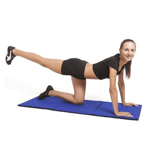 5 exerciții pentru fese de invidiat - ferme și fără celulită!