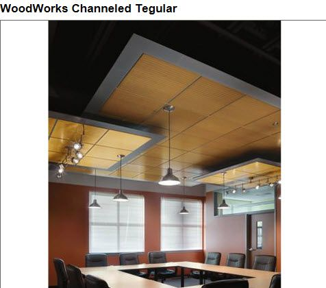 Armstrong Woodworks -Tegular
