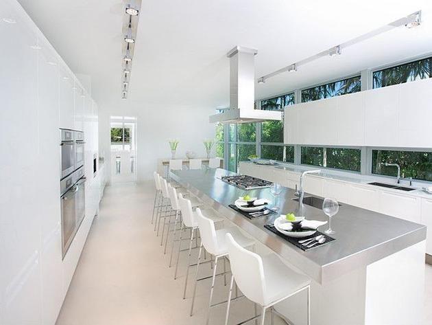 Images Modern White Kitchens