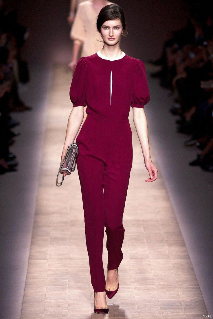 Shop this look on Lookastic: https://lookastic.com/women/looks/purple-jumpsuit-purple-satin-pumps-clear-crossbody-bag/15546   — Purple Jumpsuit  — Clear Crossbody Bag  — Purple Satin Pumps