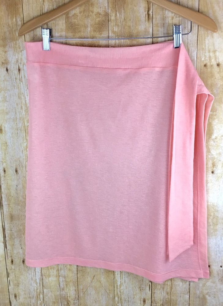 Tommy Bahama Knee Length Sheer Swimsuit Crap Coverup Sarong Pink Size Small | eBay