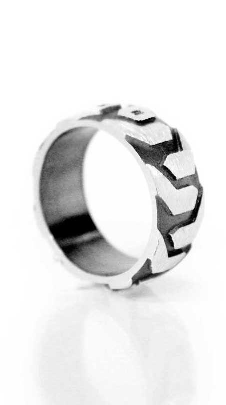 Dunder Design by Anniina Dunder #Ring for #men. | Dunderdesign.fi