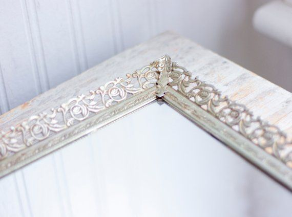 Vintage Vanity Mirror Tray For Bedroom Dresser Bedroom Vintage Vintage Mirrors Vintage Mirror