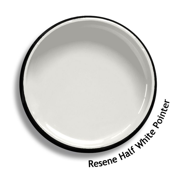 Resene half white pointer is a shadow of grey white and for White shadow paint color