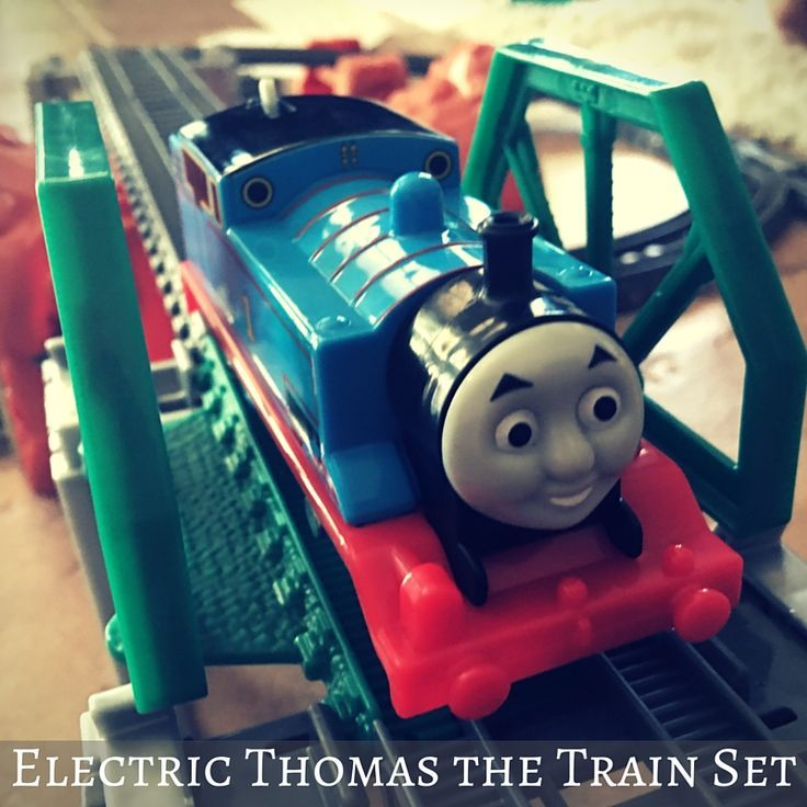Have you played with the Electric Thomas the Train set yet?  CLICK HERE