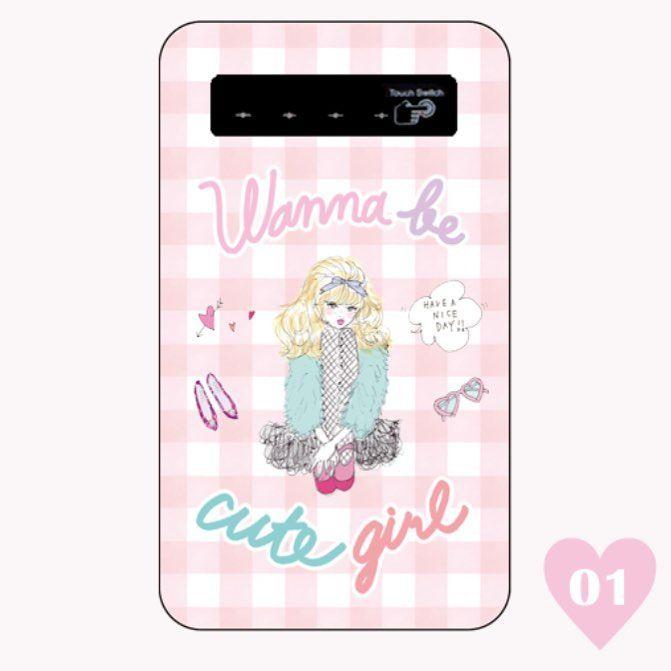 新デザイン発売しました💕  こちらはモバイルバッテリー🎈  ¥4,250    #Ciara #シアラ#モバイルバッテリー