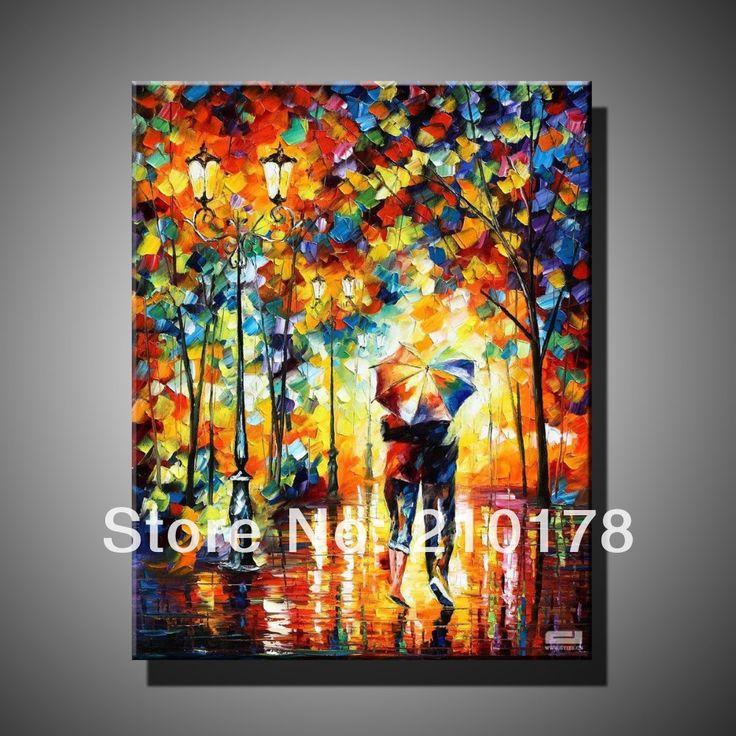 Cheap Envío gratuito pintura al óleo en la lona moderna 100% mejor arte pintura al óleo paisaje original directamente desde el artista DY 156, Compro Calidad Pintura y Caligrafía directamente de los surtidores de China: