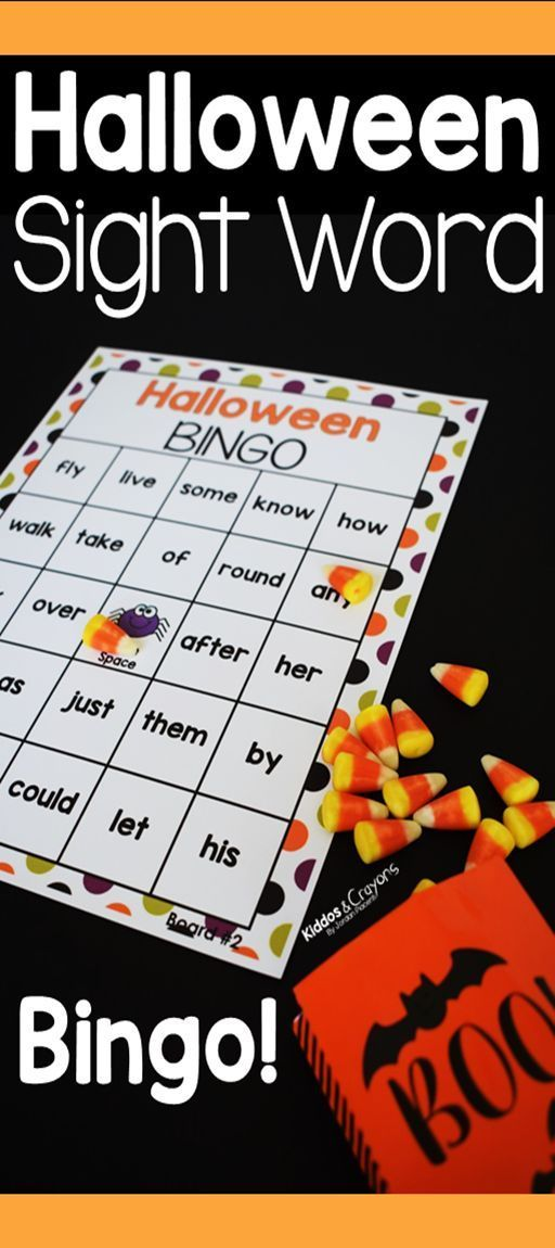 Playing Halloween sight word bingo is one of my favorite activities for practicing sight words around halloween time. My student love the idea of playing a halloween game while still learn sight word skills.