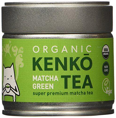 KENKO Matcha Green Tea Powder [USDA Organic] Premium Ceremonial Grade - Japanese Matcha Tea Powder 30g [1oz]