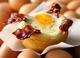 Bacon and Egg Savory cakes