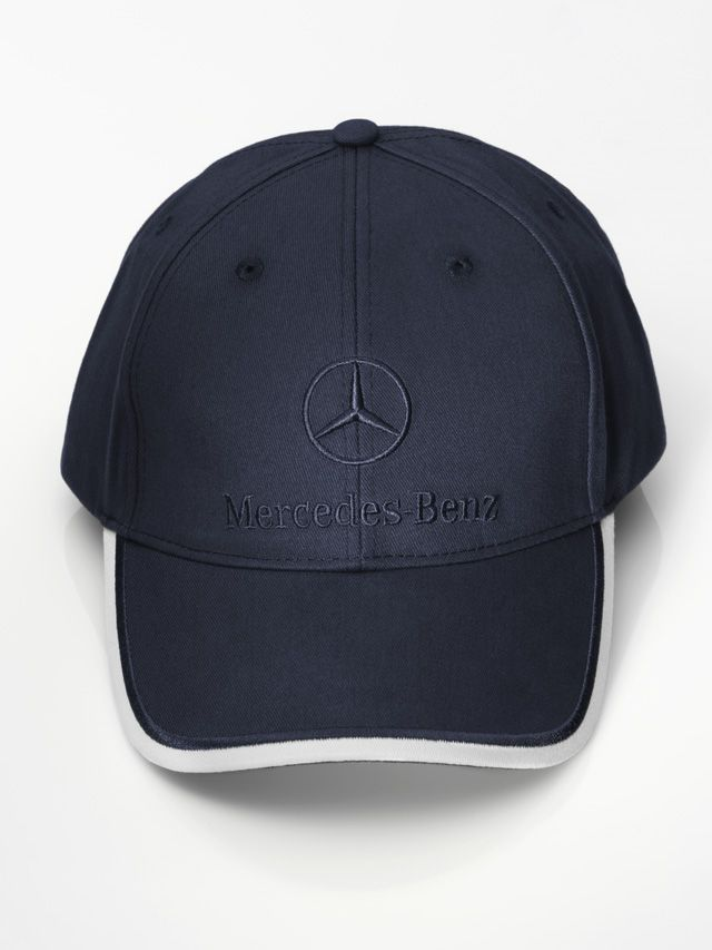 Cap navy B66952244 Colour:Β Β Β  navy  Material information:Β Β Β  cotton  Baseball cap, various colours. 100% cotton. White detail on peak. Metal clasp for adjusting fit.  Logo embroidered on front. Star logo embossed on metal clasp.