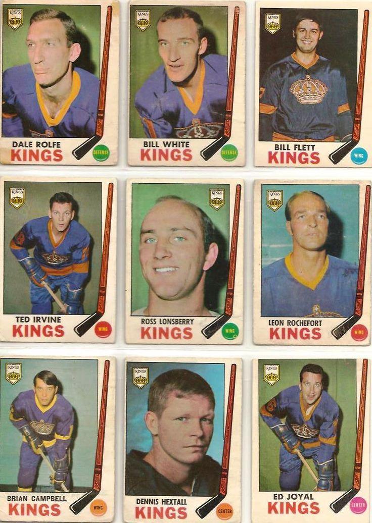 100-108 Dale Rolfe, Bill White, Bill Flett, Ted Irvine, Ross Lonsberry, Leon Rochefort, Brian Campbell, Dennis Hextall, Ed Joyal