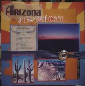 Arizona Statehood - Scrapbook.com